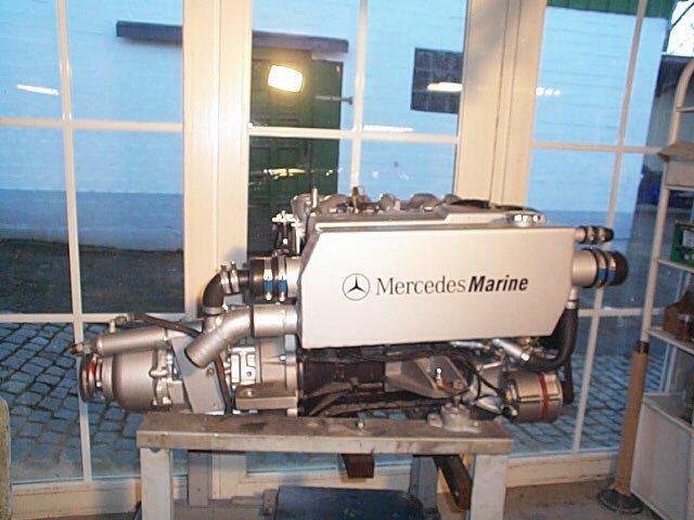 Mercedes marinediesel om 602 5 zylinder 95 ps for Mercedes benz marine engines